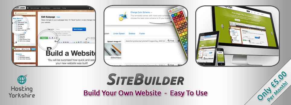 Easy way to build a website
